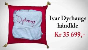 Ivar Dyrhaugs håndkle