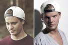 SOM TVILLINGER: I hvit caps: Kygo, i hvit caps: Avicii (Foto: Stubberud/Sony, Sony/ATV, Alex Wessely)