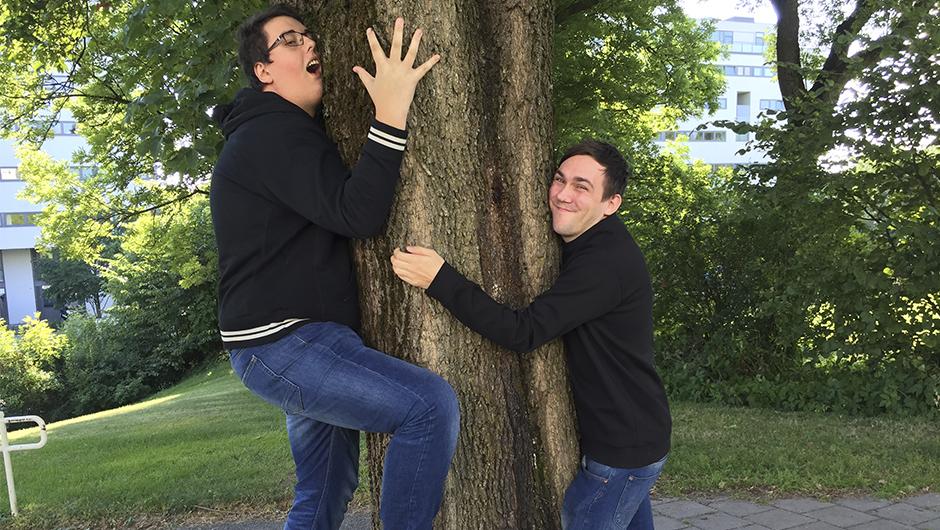 NY VRI: Prebz og Dennis elsker natur.